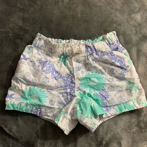Girls colorful shorts